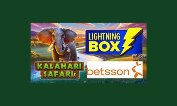Get ready for an African adventure with Lightning Box's Kalahari Safari