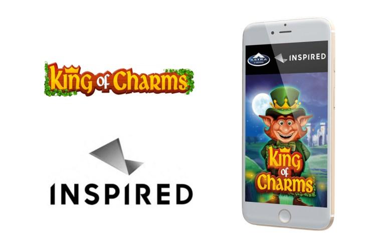 Terinspirasi meluncurkan King of Charms, game slot online & seluler terbaru