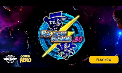 Golden Hero releases Raigeki Rising X30