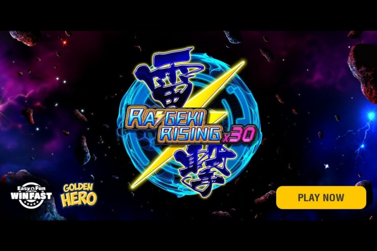 Golden Hero merilis Raigeki Rising X30