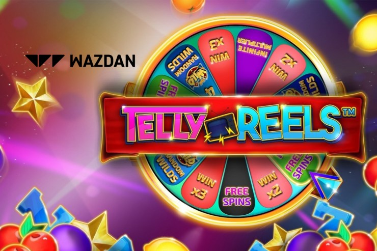 Wazdan switches on new slot Telly Reels