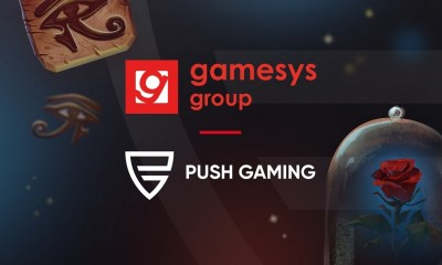 Push Gaming expands in UK with Gamesys Group plc content deal