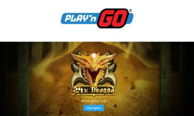 Play'n GO Look to Strike Gold with 24K Dragon!