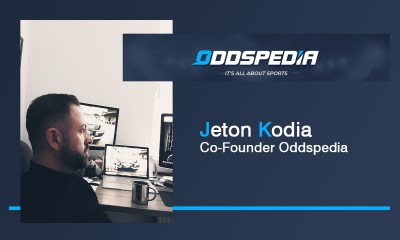 Exclusive Q&A with Jeton Kodia Co-Founder at Oddspedia