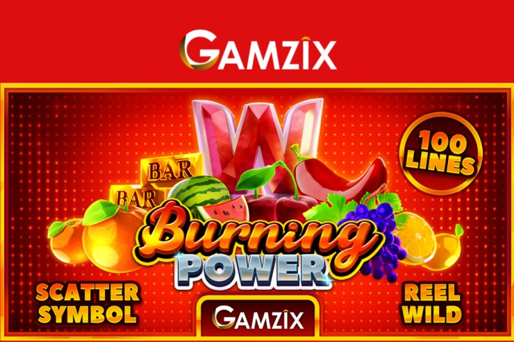 Gamzix releases Burning Power slot