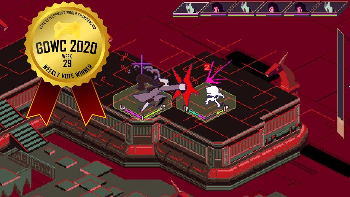 Keylocker Menguasai Vote Mingguan Pretty Pixely Games di Game Development World Championship!