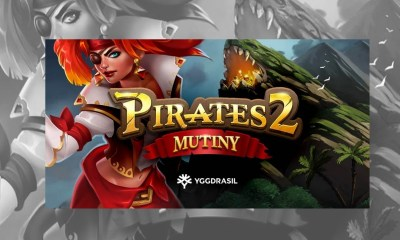 Plunder oceans of treasure with exciting new Yggdrasil game Pirates 2: Mutiny
