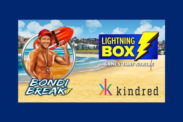 Take a trip a Down Under with Lightning Box's Bondi Break