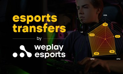 WePlay Esports presents: Esports Transfers