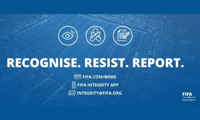 FIFA and UNODC Join Forces to Encourage Football to Speak Out Against Match-Fixing