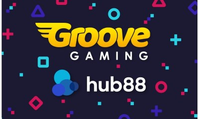 GrooveGaming to supply HUB88