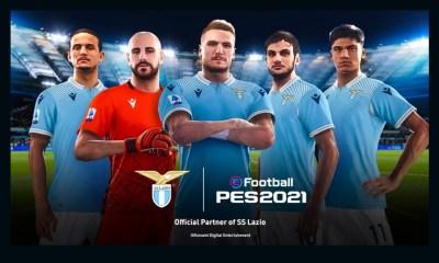 Konami Announces Partnership With SS Lazio