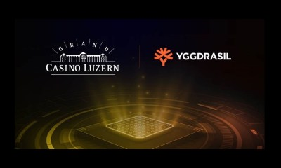Yggdrasil enters into Switzerland and strikes content partnership deal with Grand Casino Luzern