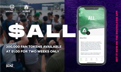 Alliance To Let Fans Choose Which GameThey Pick Up A Roster In When $ALL Fan Token Launches On December 11th