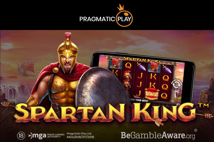 Pragmatic Play Battles for Riches in Spartan King
