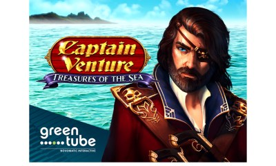Set sail for reel winnings in Captain Venture™: Treasures of the Sea