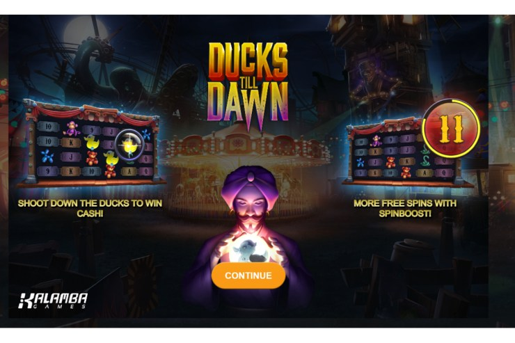 Kalamba Games launches thrilling title Ducks Till Dawn