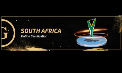 GoldenRace receives online certification in South Africa