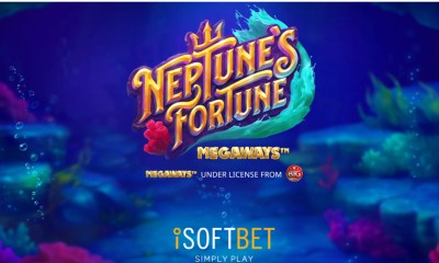 iSoftBet dives into latest hit Neptune's Fortune Megaways™