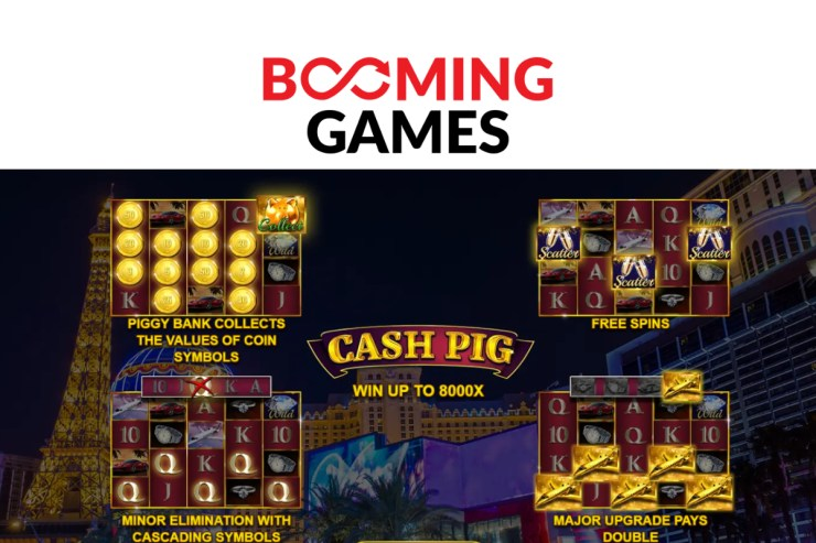 Cash Pig released by Booming Games
