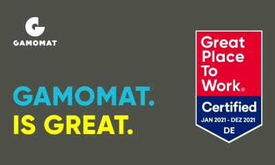 GAMOMAT is awarded Great Place To Work certification