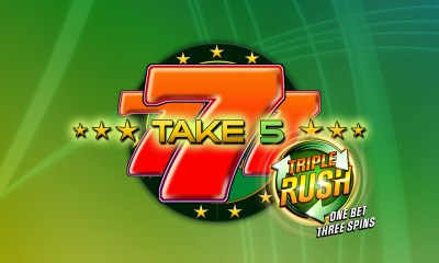 GAMOMAT introduces TRIPLE RUSH - one bet three spins
