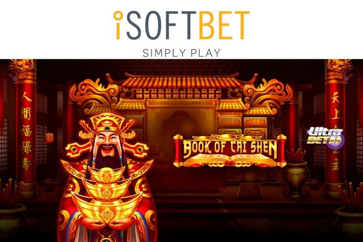 iSoftBet menyambut Tahun Baru Imlek dengan Book of Cai Shen