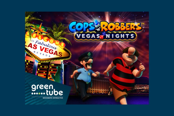 Vegas is for the taking in Cops 'n' Robbers™ Vegas Nights