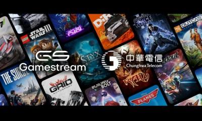 Gamestream® and Chunghwa Telecom successfully launch iOS cloud gaming app