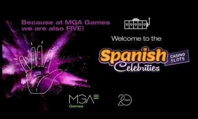 """At MGA Games we are also 5"", campaign launch for the new Spanish Celebrities Casino Slots series"