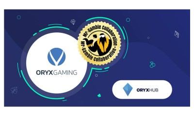 ORYX Gaming enters exciting Twitch promotion via Cashmagnet-operated Mr. Gamble