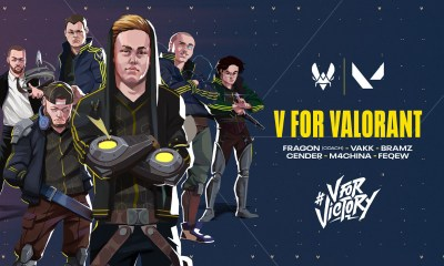 TEAM VITALITY ANNOUNCES ENTRANCE INTO VALORANT