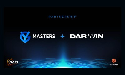 Darwin Gaming joins Yggdrasil's YG Masters program