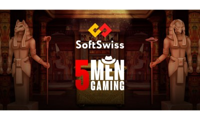 SoftSwiss expands gaming portfolio with 5Men Gaming