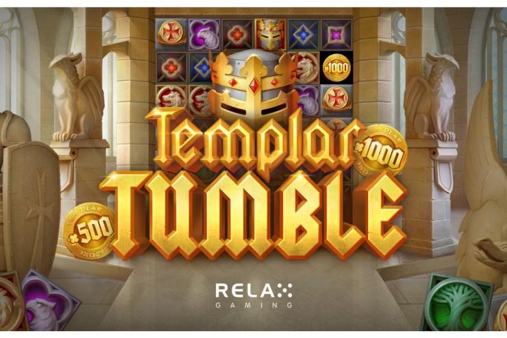Gameplay ilahi ditawarkan di Templar Tumble baru dari Relax Gaming