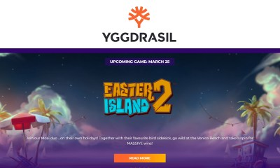 Yggdrasil takes players to the beach in Easter Island™ 2