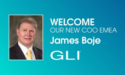 Gaming Laboratories International (GLI®) Names James Boje Chief Operating Officer, EMEA