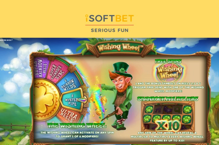 iSoftBet spins for riches in Wishing Wheel