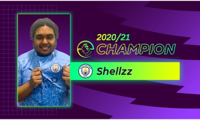 SHELLZZ WINS 2020/21 ePREMIER LEAGUE TITLE FOR MANCHESTER CITY