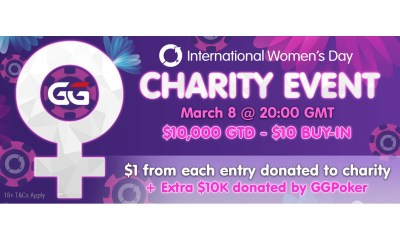 GGPoker Community To Raise Money For Women's Charities On March 8