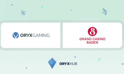 ORYX extends reach in Switzerland with jackpots.ch provided by Grand Casino Baden