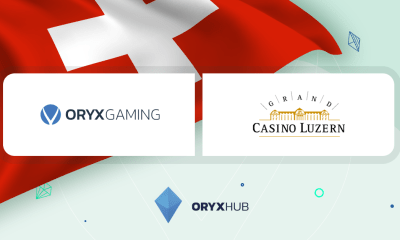 ORYX enters Switzerland with Grand Casino Luzern