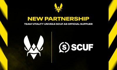 TEAM VITALITY REVEALS PARTNERSHIP WITH SCUF
