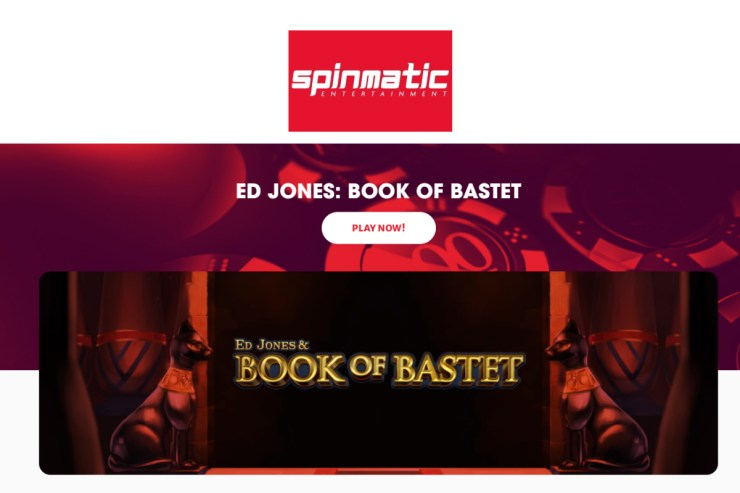 SPINMATIC PRESENTS ED JONES & BOOK OF BASTET