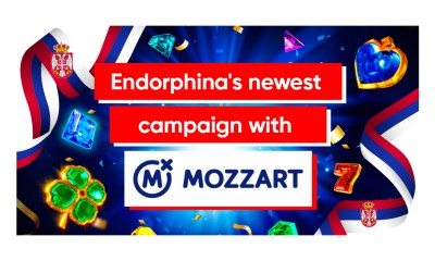 Endorphina's newest campaign with MozzartBet!