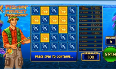 Blueprint Gaming bolsters content offering with brand new Prize Lines™ mechanic