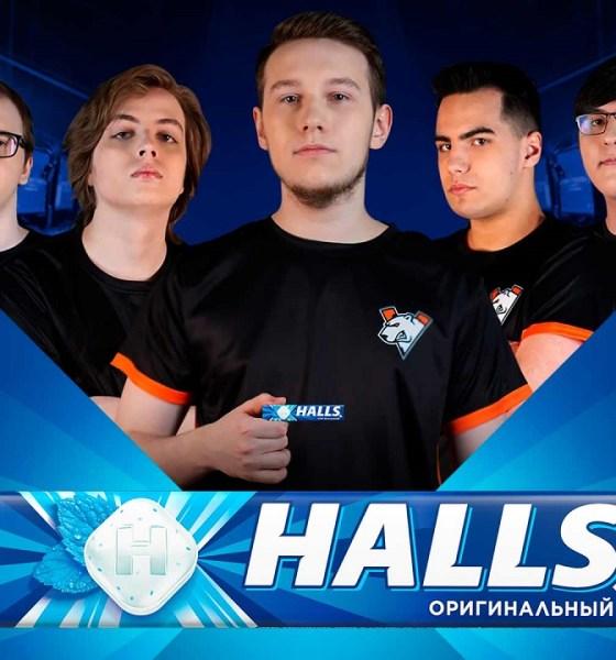 Halls and Virtus.pro announce partnership