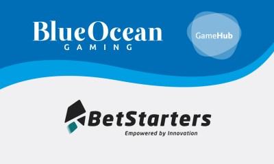 BetStarters integrates BlueOcean Gaming's GameHub aggregator!