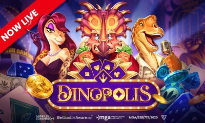 Push Gaming goes prehistoric with Dinopolis
