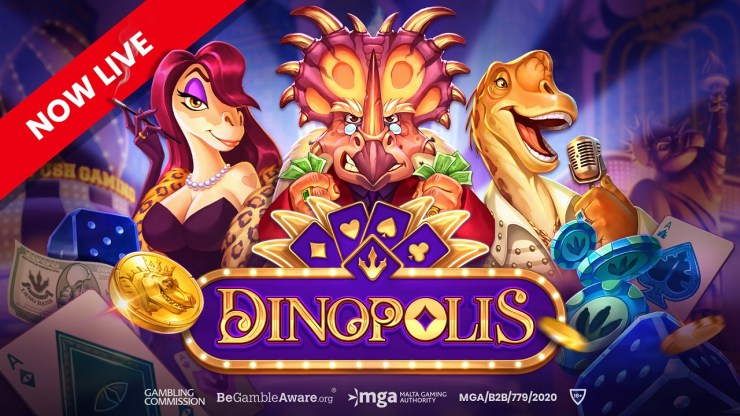 Push Gaming goes prehistoric with Dinopolis
